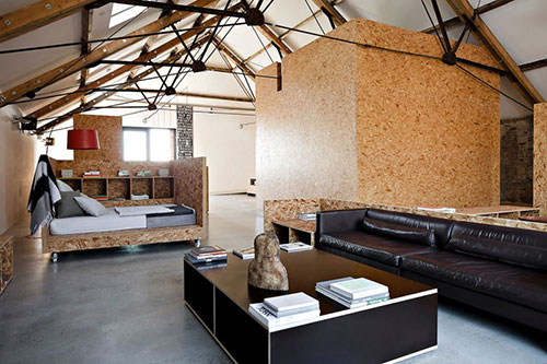 Industriele Woonkamer Van Vervallen Boerderij together with Steel Framing Kits Custom Homes additionally Home Theater also Maison De Vacances Renovee Valdes as well Man Caves The Perfect Garage. on pole barn home conversion