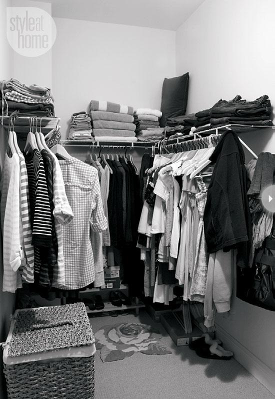 Inloopkast make-over van managing editor van Style at Home