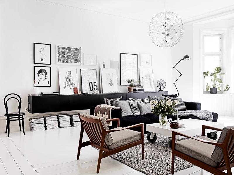 Brede Woonkamer Inrichten : Inrichting van een brede woonkamer interieur inrichting