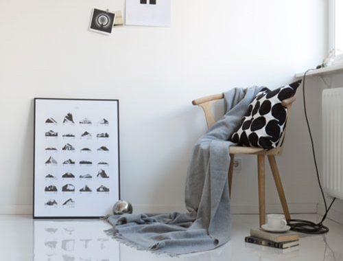 Inrichting van een klein minimalistisch appartement