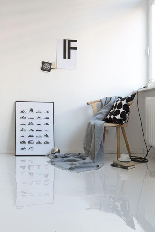 Inrichting van een klein minimalistisch appartement for Interieur inrichting