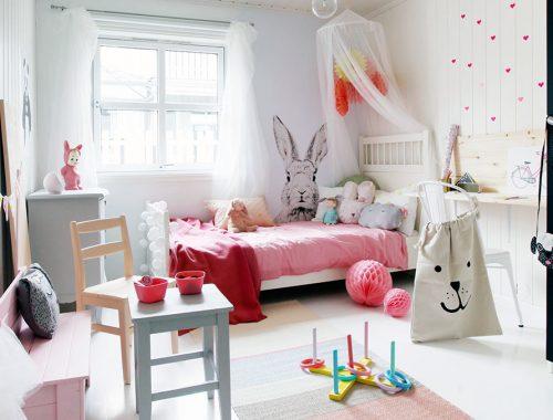 Inrichting van een meisjeskamer