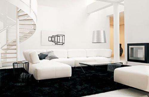Inrichting woonkamer met hoekbank | Interieur inrichting