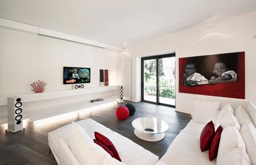 Inrichting woonkamer met hoekbank interieur inrichting for Deco van woonkamer design