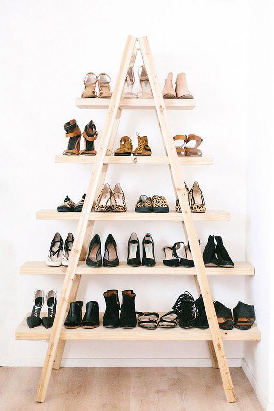 Inspiratie voor het opbergen van schoenen