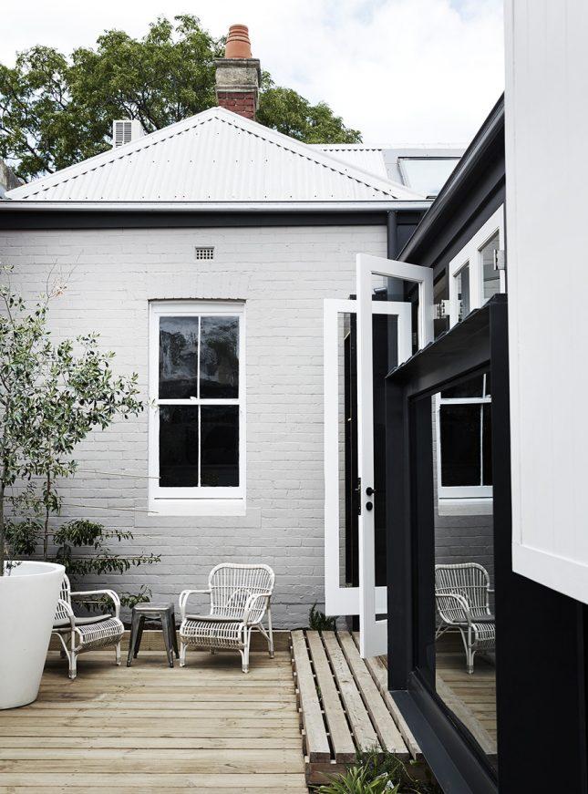 Inspirerend idee om tuin met woonkamer te betrekken