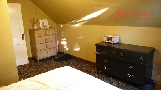 Inspirerende slaapkamer make-over met laag budget