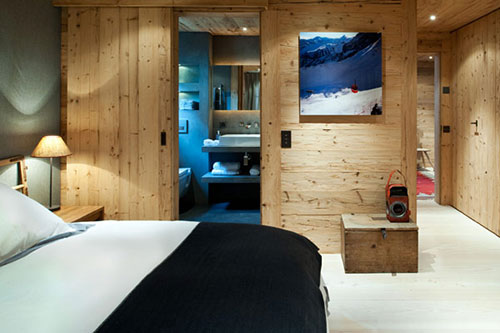 Interieur chalet woning in swiss alps interieur inrichting for Interieur chalet moderne