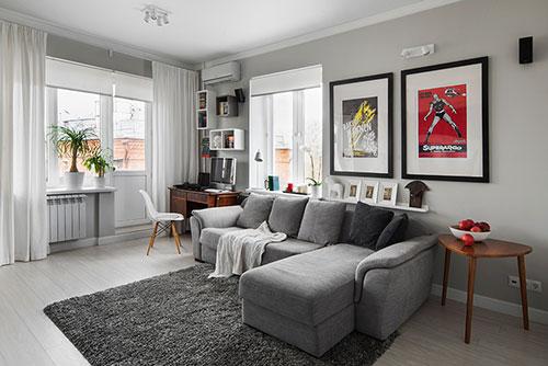 Interieur idee n voor klein appartement interieur inrichting for Kantoor interieur ideeen