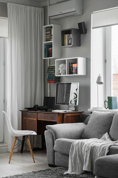 Woonkamer klein appartement : Interieur ideeën voor klein appartement ...