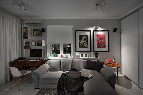 Hochwertig Interieur Ideeën Voor Klein Appartement