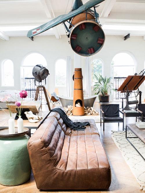 Interieur ideeën in The Loft in Amsterdam