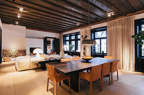 Interieur inrichting ideeën van architecten Björn en Marianne Aaro