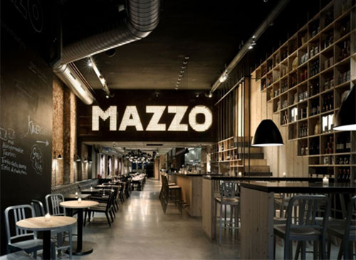 Interieur inrichting restaurant mazzo interieur inrichting for Cafe mazzo