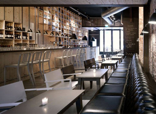 Interieur inrichting restaurant mazzo interieur inrichting for Classic cafe interior designs