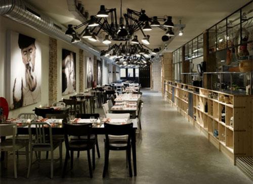 Interieur inrichting restaurant mazzo interieur inrichting for Interieur restaurant
