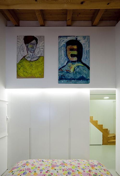 Interieur klein appartement