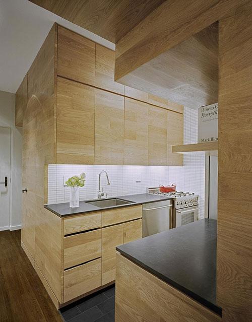 Compacte Design Keuken : Interieur kleine woning met effectieve indeling Interieur inrichting