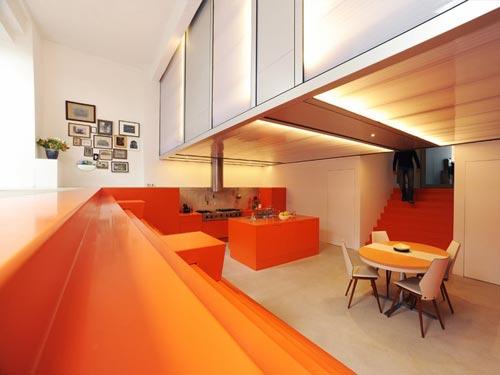 Interieur woning voormalige ambulance garage | Interieur inrichting
