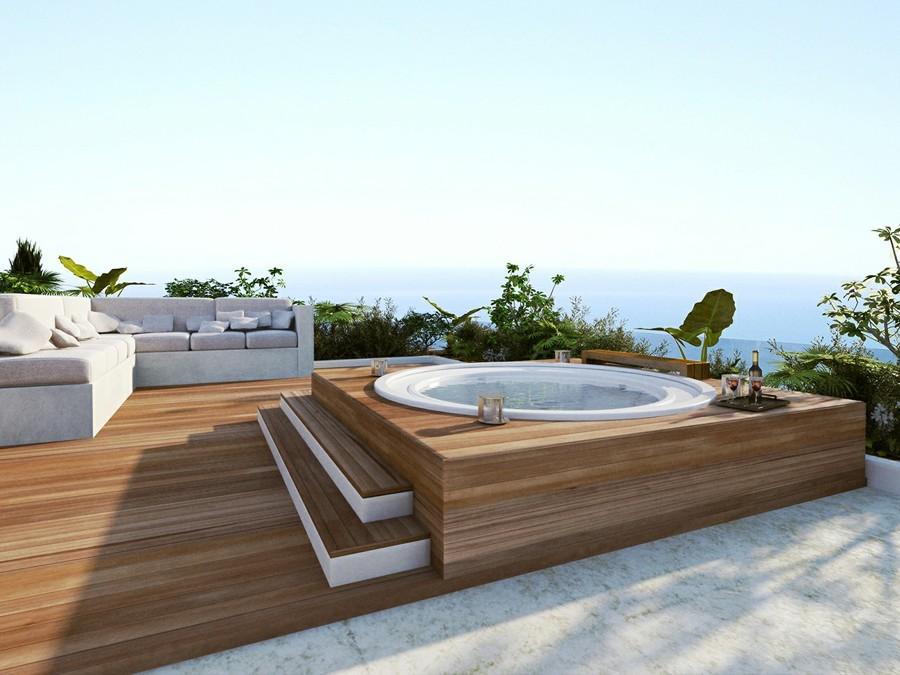 Jacuzzi In Tuin : Hoe een jacuzzi jouw tuin compleet maakt interieur inrichting