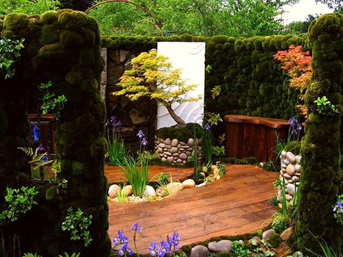 Japanse tuin interieur inrichting - Japanese interior home garden ideas ...
