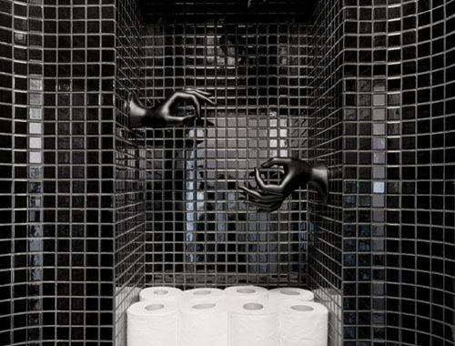 Jaren '60 toilet ontwerp