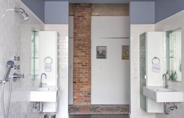 Kant en klare badkamer van Anne en Leo