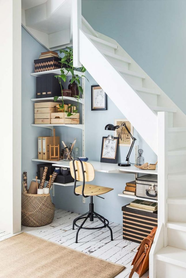 kantoor onder trap