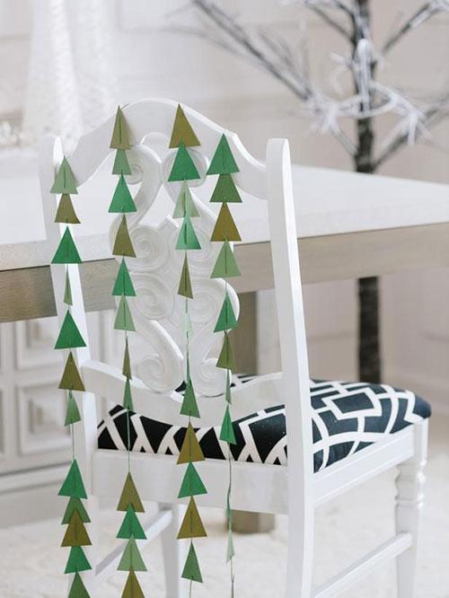 Kerst decoratie in huis