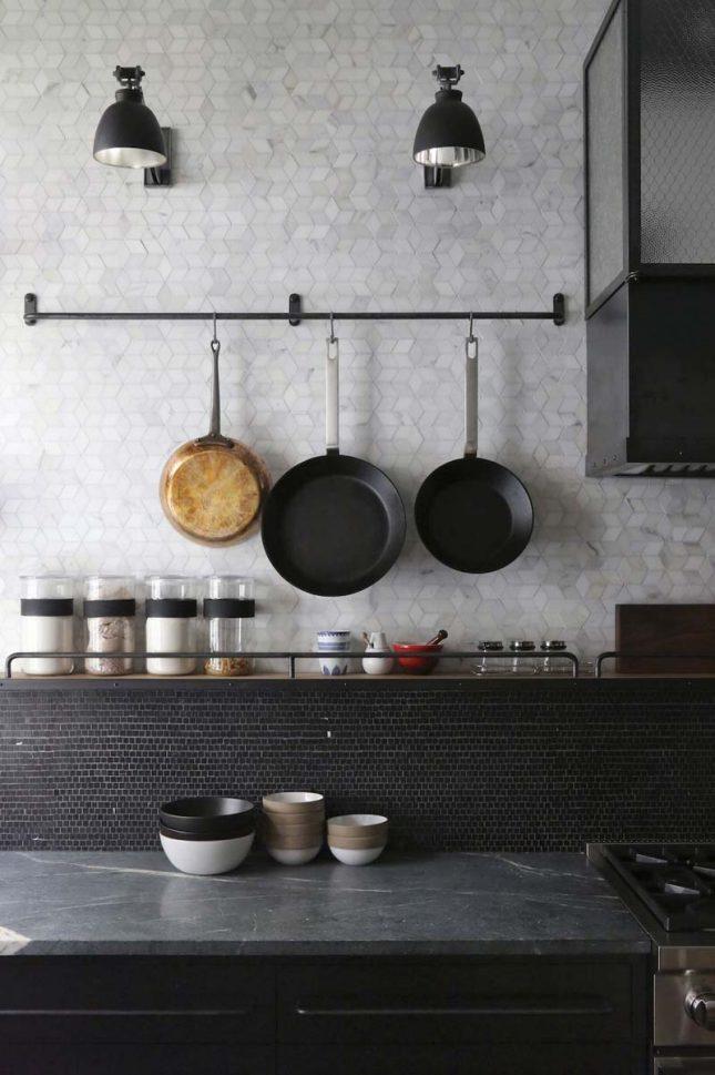 keuken achterwand kleine ruitjes tegels