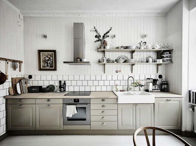 keuken achterwand lambrisering betegelen