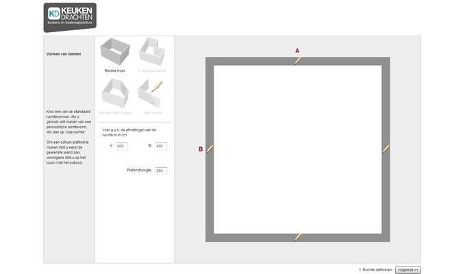Keuken online ontwerpen