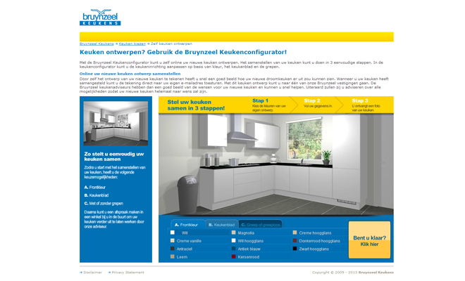 Keuken online ontwerpen interieur inrichting for Interieur ontwerpen programma