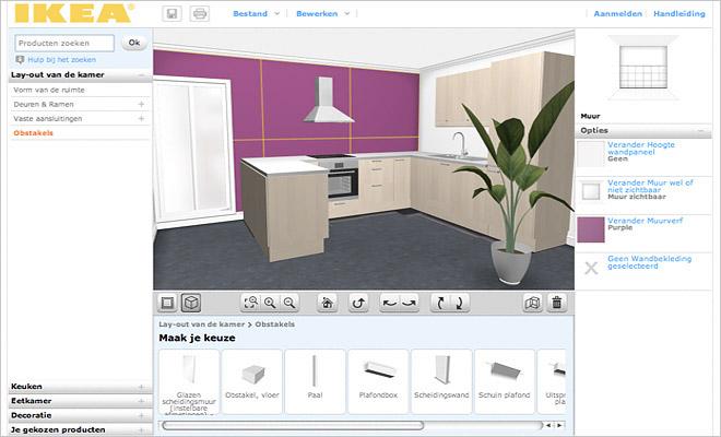 Keuken online ontwerpen interieur inrichting for 3d programma interieur