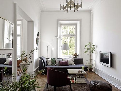 Keuken met open verbinding met woonkamerinterieur inrichting interieur inrichting - Keuken woonkamer open keuken ...