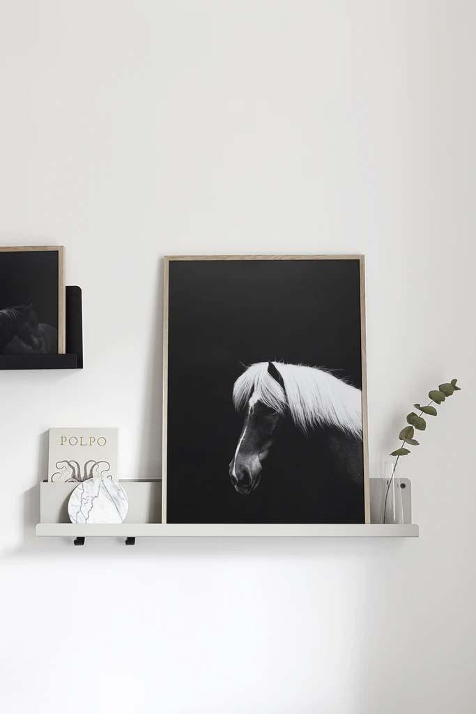 keuken schilderij coco lapine paard poster hustur