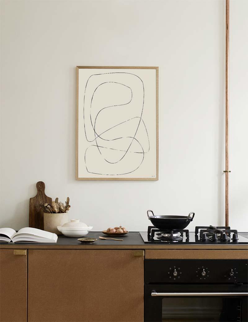 keuken schilderij figure 04
