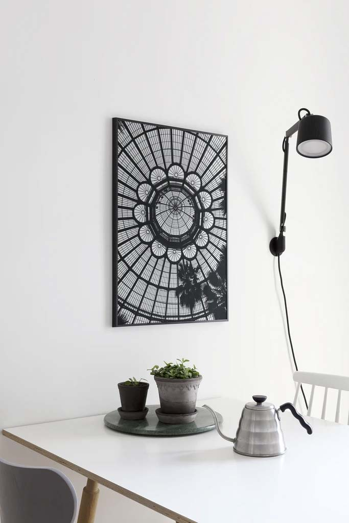 keuken schilderij poster jardin eettafel