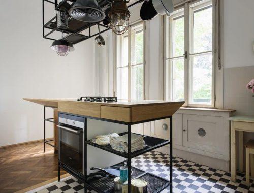 Keuken stijlmix modern, industrieel en klassiek