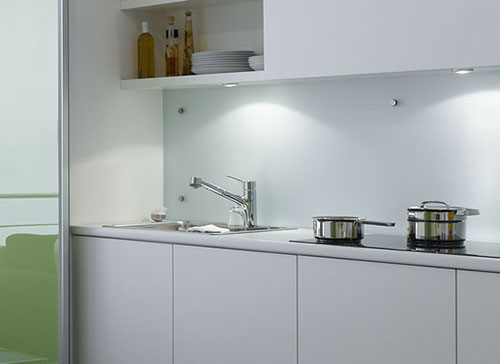 Ikea glazen achterwand keuken