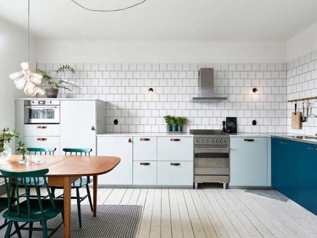 keukentrends 2020 keukenkasten twee kleuren