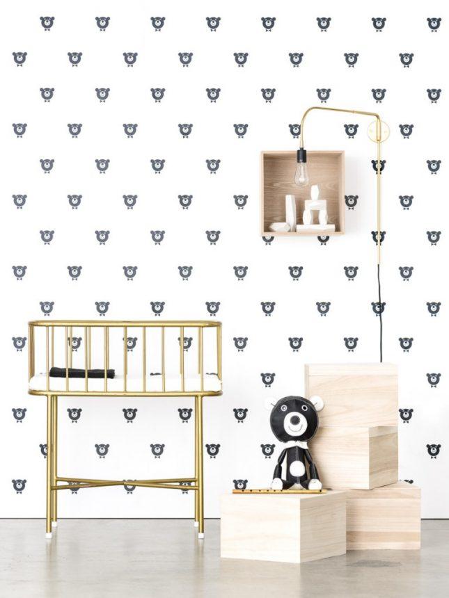 Kinderkamer behang van Acne JR