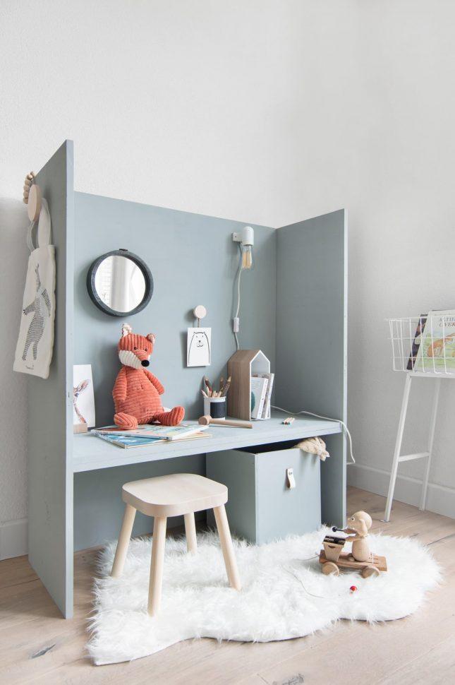 kinderkamer bureaus diy bureau maken huisje speelhoek