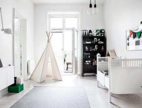 Kinderkamer met Scandinavisch design