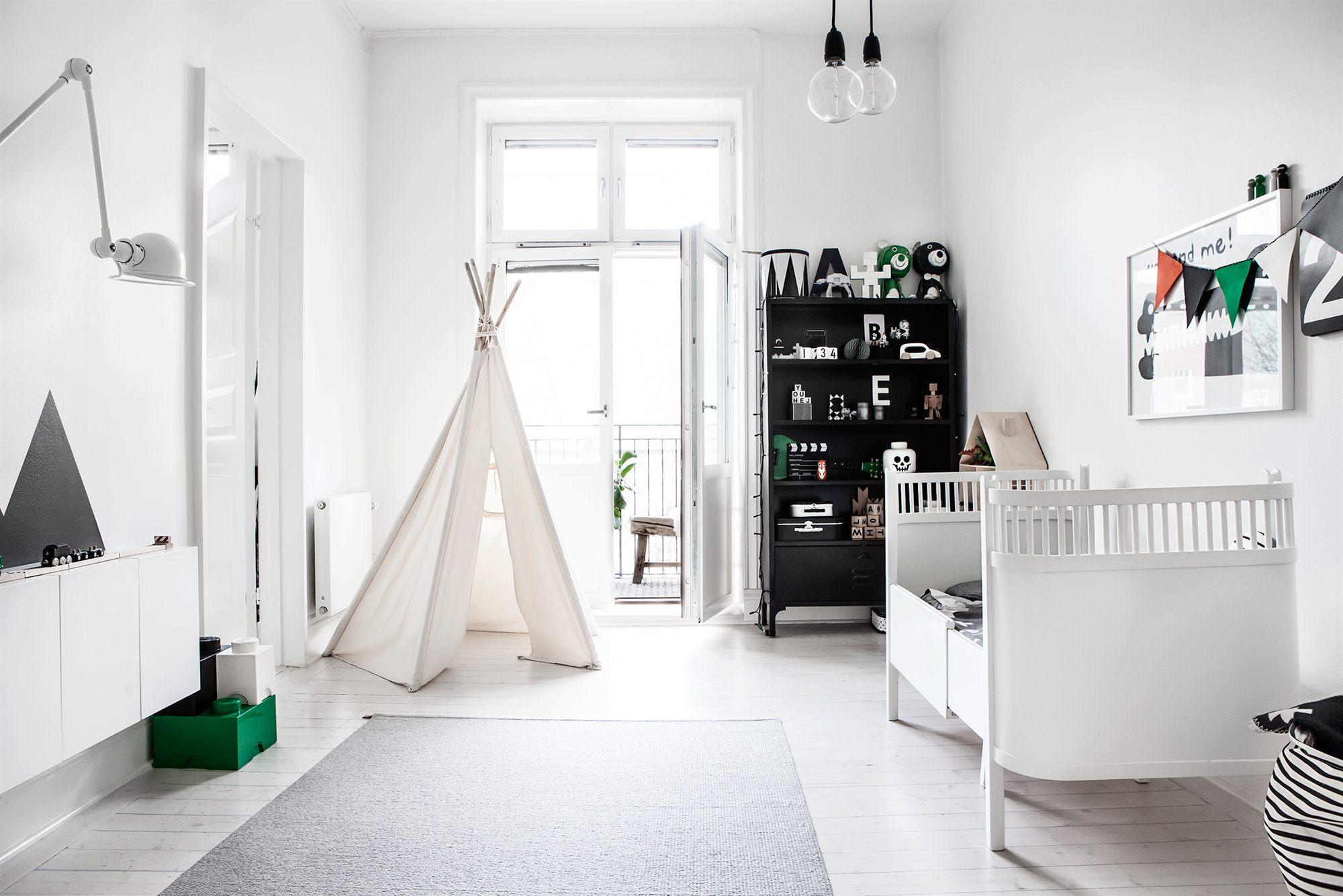 Scandinavisch Design Schommelstoel.Kinderkamer Met Scandinavisch Design Interieur Inrichting