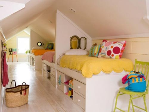 Kinderkamers Op Zolder : Kinderkamers op zolder interieur inrichting
