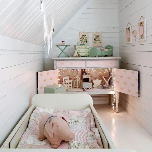 Kinderkamer op zolder