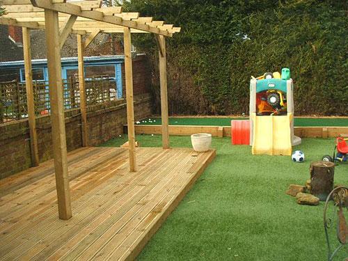 Kindvriendelijke tuin interieur inrichting for Ideeen voor tuin