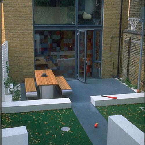 Kindvriendelijke tuin interieur inrichting - Modern tuinbekken ...