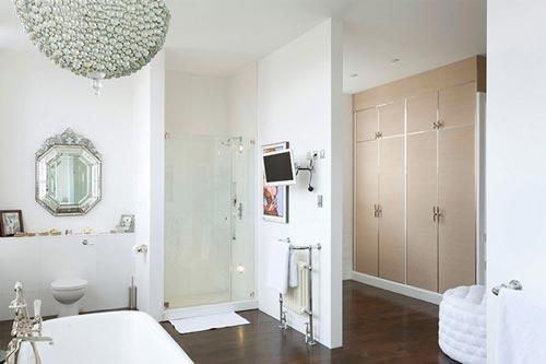 Klassiek moderne badkamer uit londen interieur inrichting